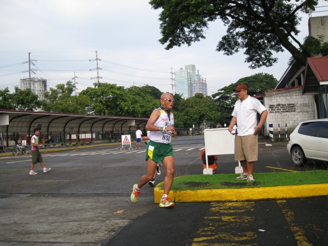 Few Meters From The Finish Line