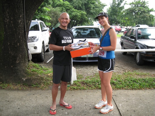 Receiving My Prize From Jaymie (The Bull Runner)