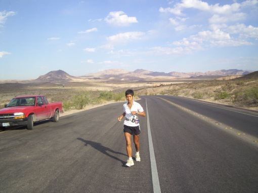 Joy Rojas at Lake Mead, Nevada