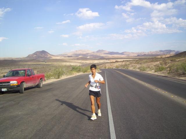 Joy Rojas at Lake Mead, Nevada