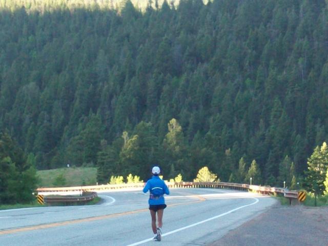 Joy Rojas On Her Way To Walsenburg, Colorado