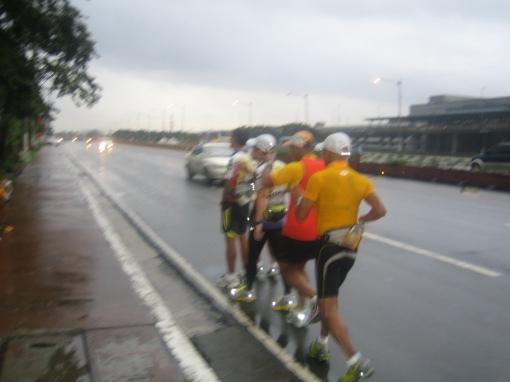 Running Under The Rain