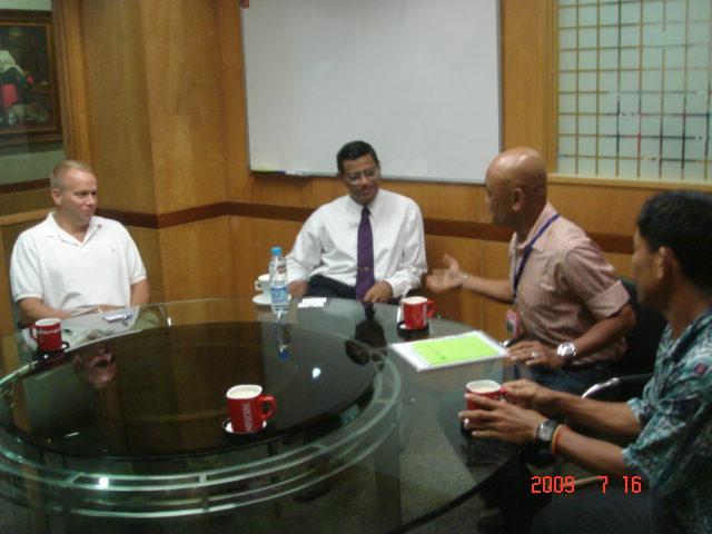 Mr Lafferty, Mr Nandu, BR & Coach Salazar
