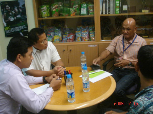 Mr Pat Goc-Ong & Mr Lester Castillo of NESTLE Were Also Included