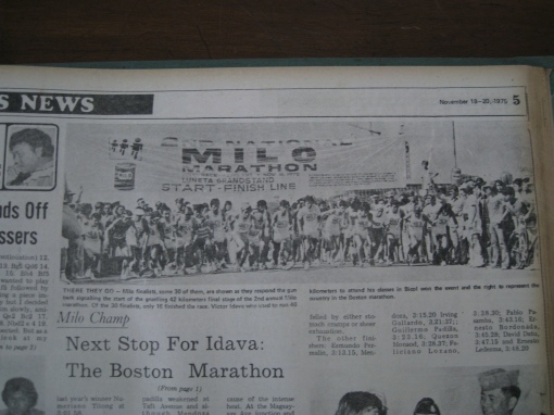 2nd MILO Run Start Picture