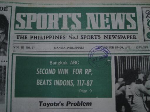 """""""Sports News"""" Newspaper"""