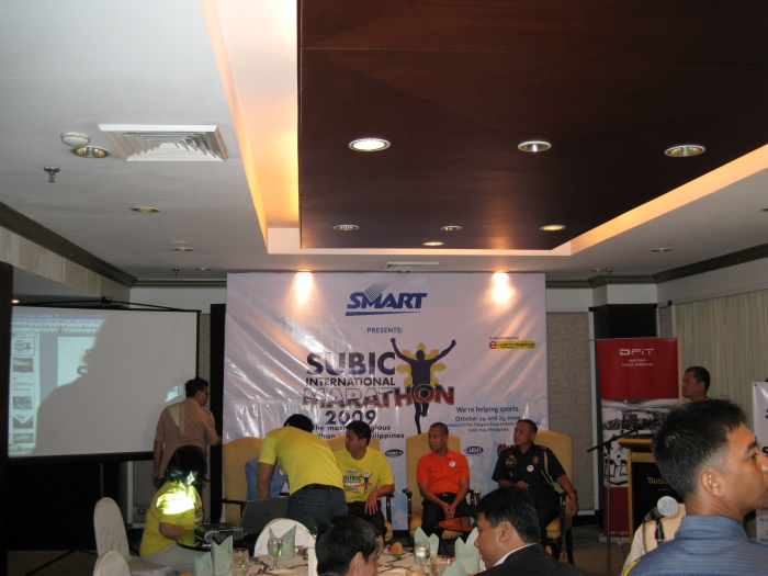 SMART Subic International Marathon Launching At Dusit Thani Hotel