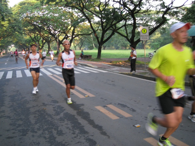 Chasing Jonel aka Bugobugo During The Race