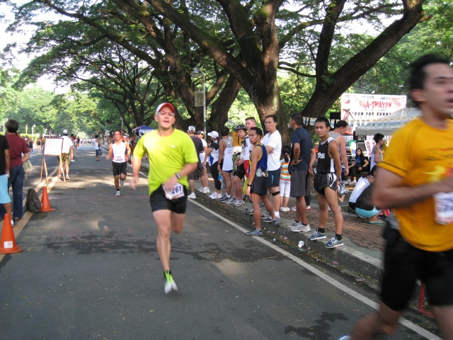 Jonel Before The Finish Line