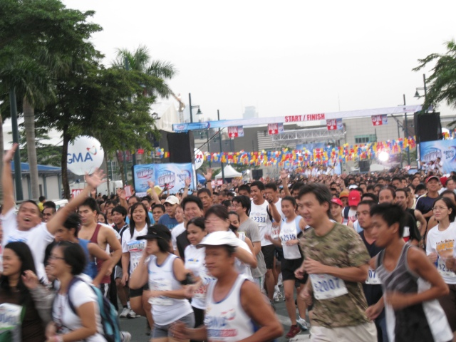 """Mass Start"" For the 5K & 10K Runners"