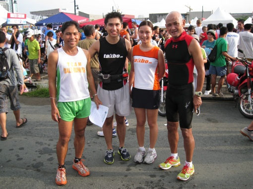 Natz aka i2runner with GF & Coach Titus