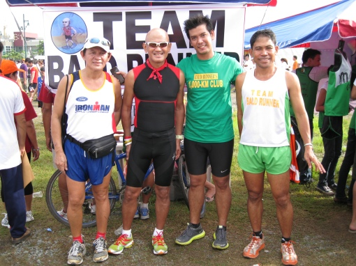 "Raffy Uytiepo, ""El Numero Uno"" Race Organizer of Cebu City (on my right)"