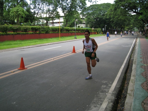 Rey Antoque, 54 years old @ BOTAK's 1-Street Mile Run