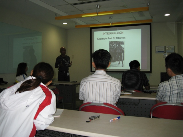 Lecture at HP, San Miguel Properties Branch