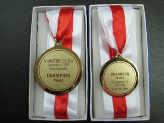 On The Back of the Medals