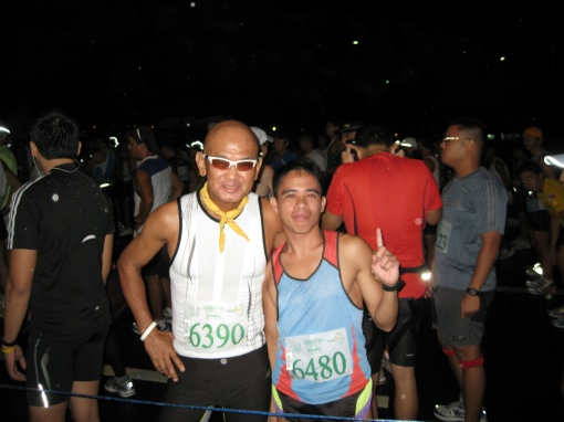 At The Starting Line With Elite Team BR's Rene Desuyo