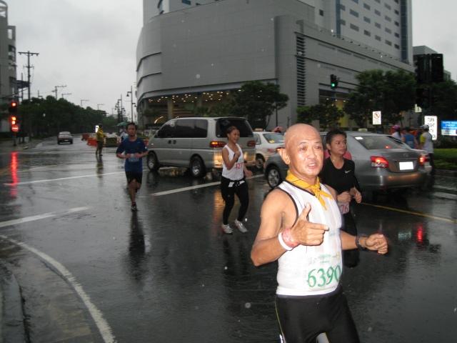 Turning Right At Rizal Drive After Coming From Kalayaan Flyover