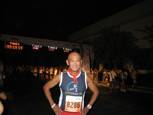 One of the Few Singlets I Used in a Road Race