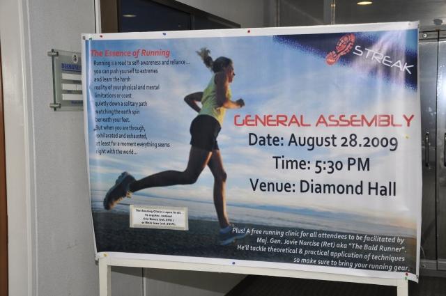 Running Clinic Poster