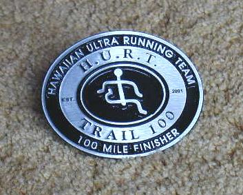 HURT 100-Mile Run Finisher's Buckle
