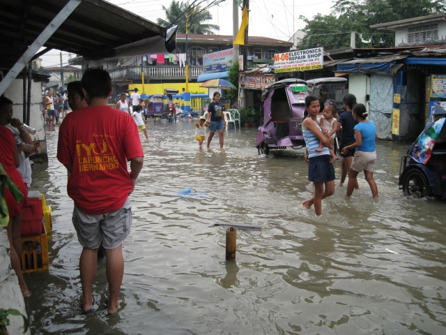 Another View of The Flooded Street