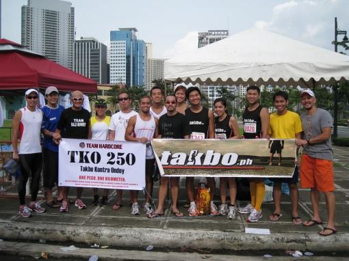 @TKO250 With Team HC, Takbo.ph, & Team BR
