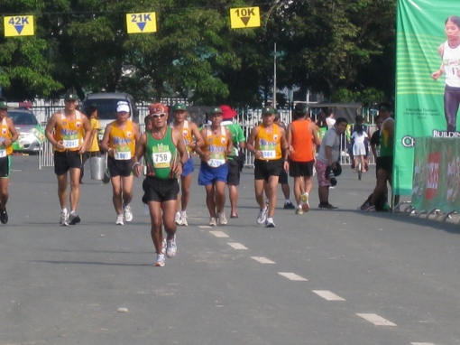 @The Luneta Near The Finish Line