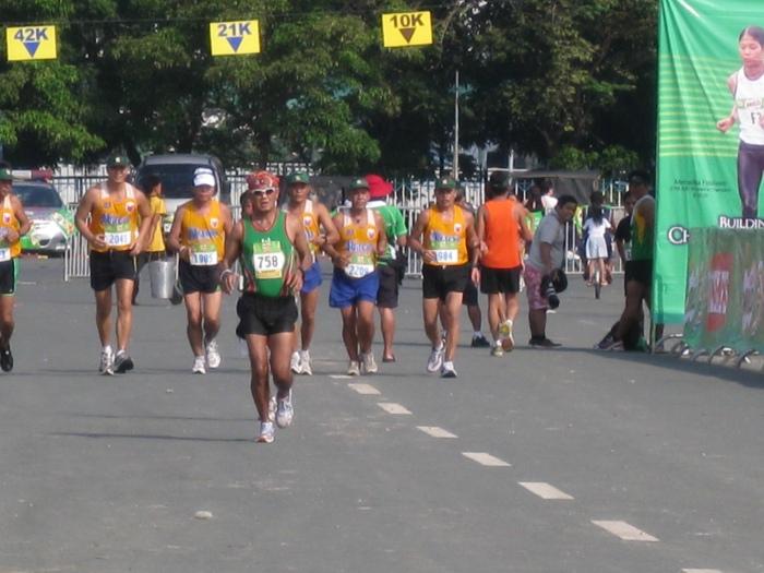 @The Luneta Near The Finish Line