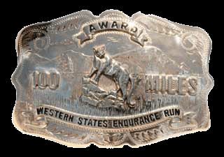 Western States 100-Mile Run Buckle Award
