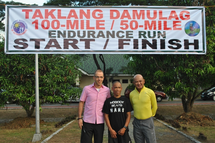 "The ""Good Samaritan"", Marcelo, & BR @ 2nd Taklang Damulag 100-Mile Endurance Run"