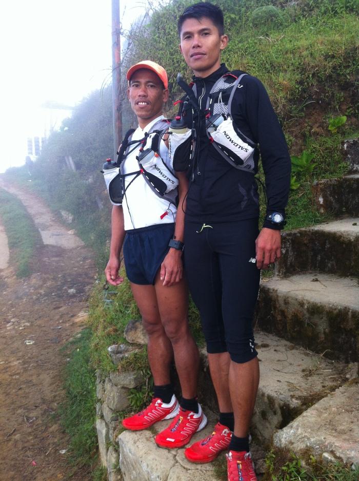 Gerald & Marcelo @ The Peak Of Mt Sto. Tomas (2,260 MASL)