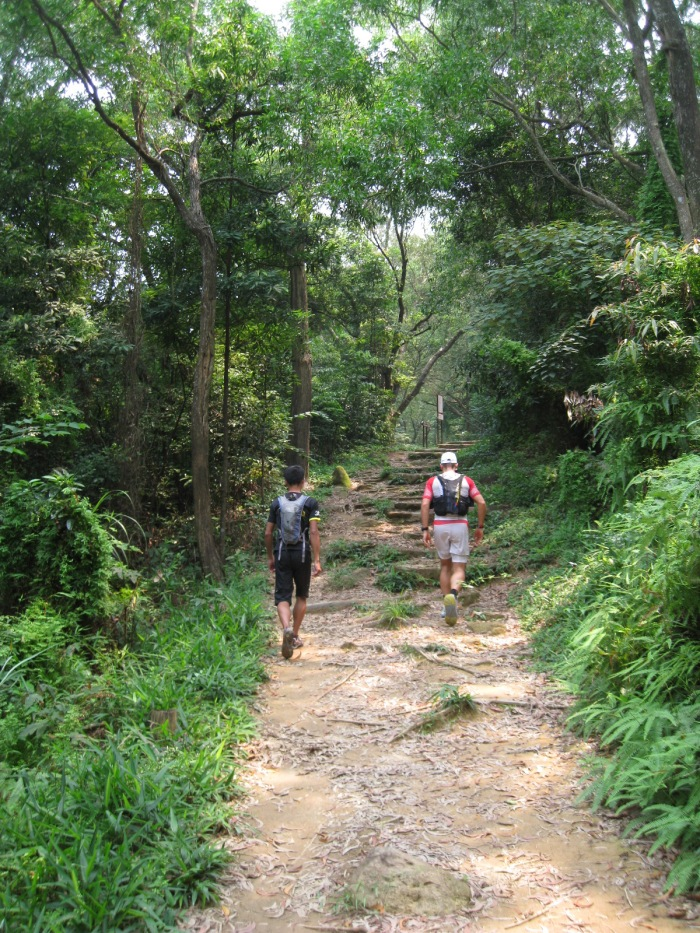 Always Behind These Two Fast Trail Runners