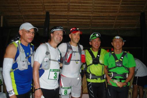 2nd TD 100 International Runners. Seow Kong Ng Is 2nd From Left.