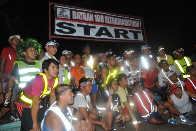 3rd BDM 160K Ultra Marathon Race @ The Starting Line in Mariveles, Bataan