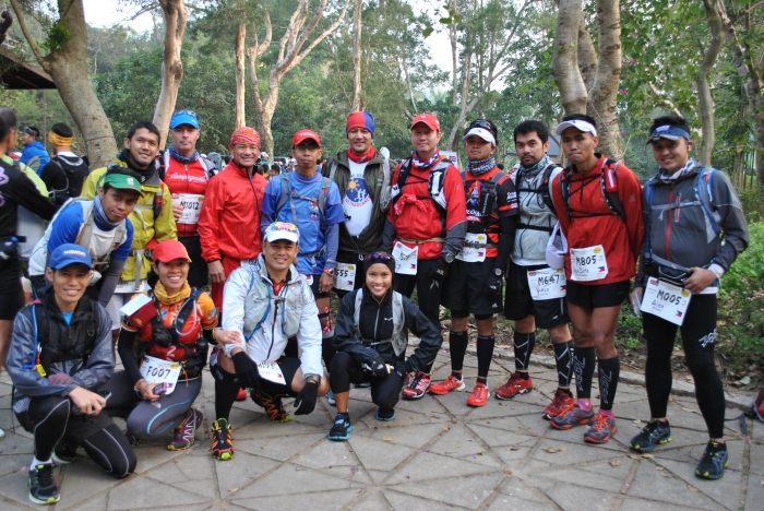 Pinoy Runners @ 2013 HK100 (Minus Marcelo, Gerald, & 4 other Pinoy Runners)