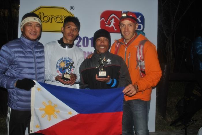 Andre Blumberg of Hongkong With Team Bald Runner
