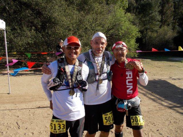 """Tres Bandidos"" (Bald Runner, Gilbert Gray, Benjamin Gaetos)"