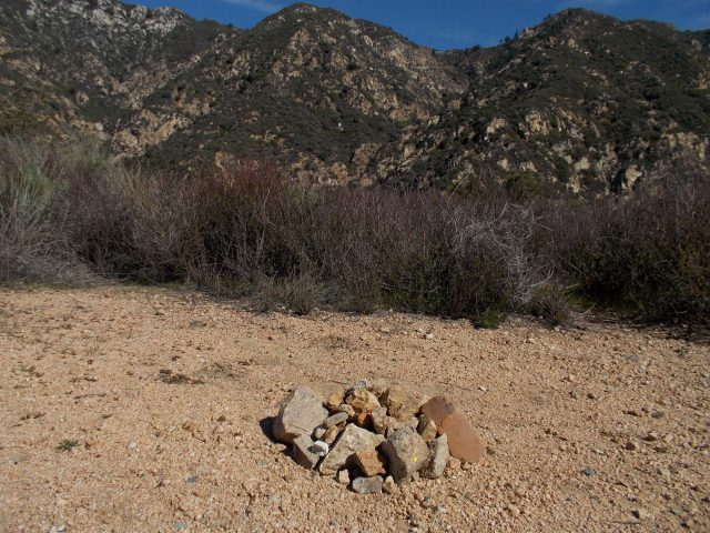Another View of the Cairn For Andre Blumberg