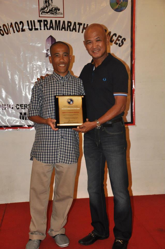 Marcelo Bautista, 2012 PAU Runner Of The Year Awardee (Photo by Elaine Botabara