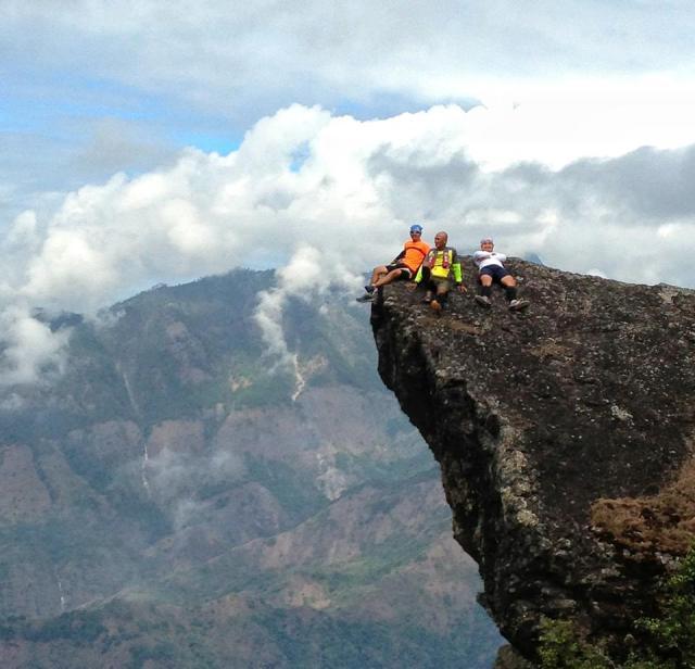 "At ""The Rock"", Philex Ridge, Barangay Ampucao, Itogon, Benguet"