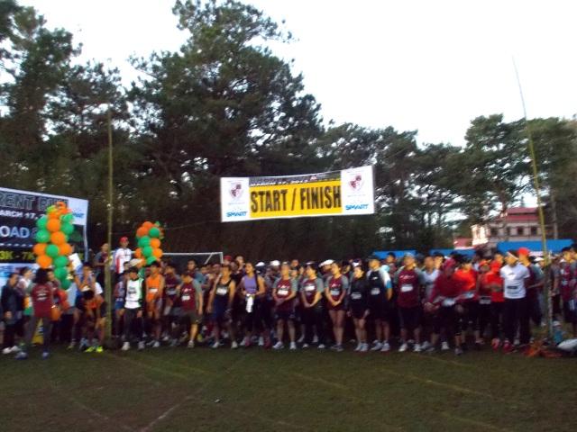 Starting Line Of The 7K Run