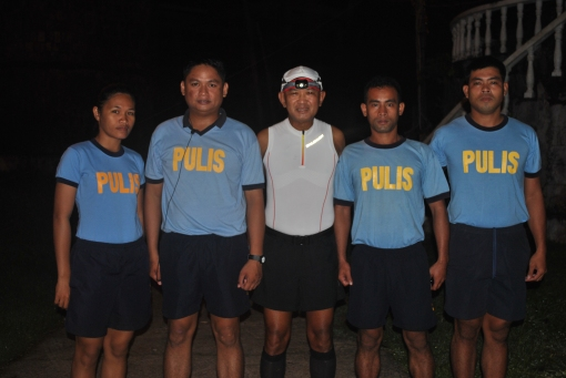 A Pose Before The Run With My PNP Escorts