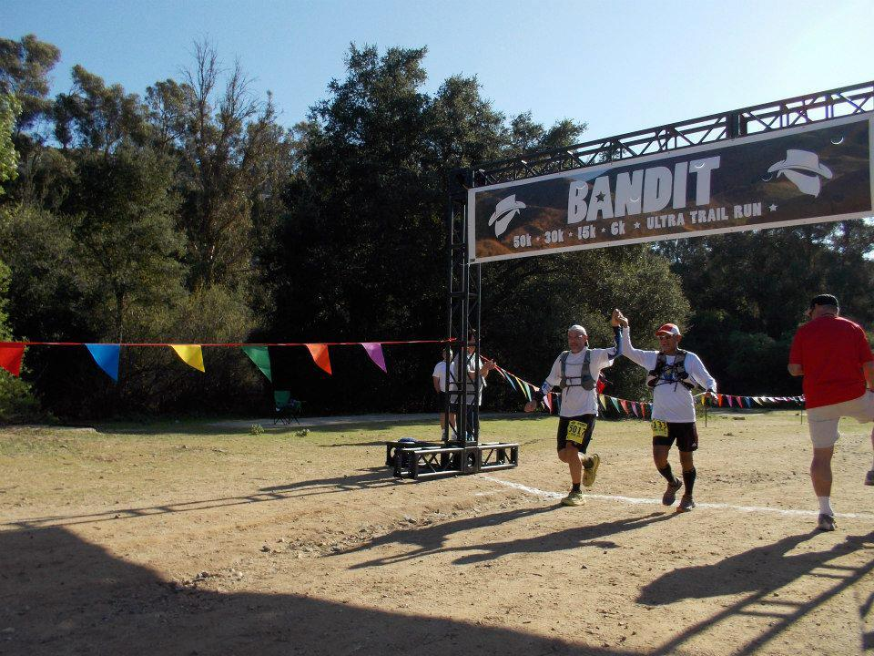 At Last, Crossing The Finish Line!