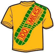 100 Miles Cafe T-Shirt