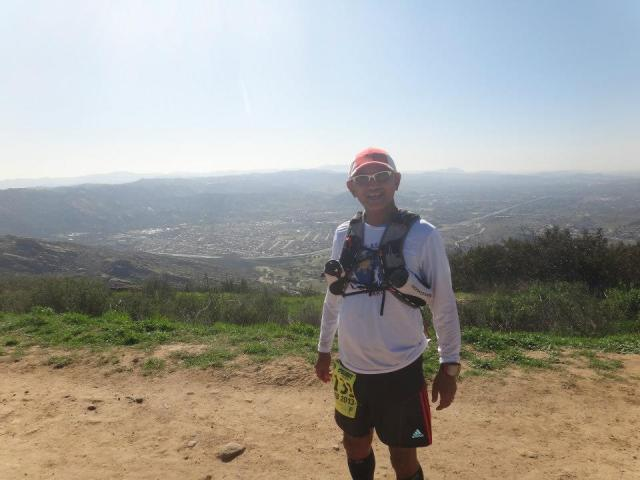 A Pose With Simi Valley On The Background