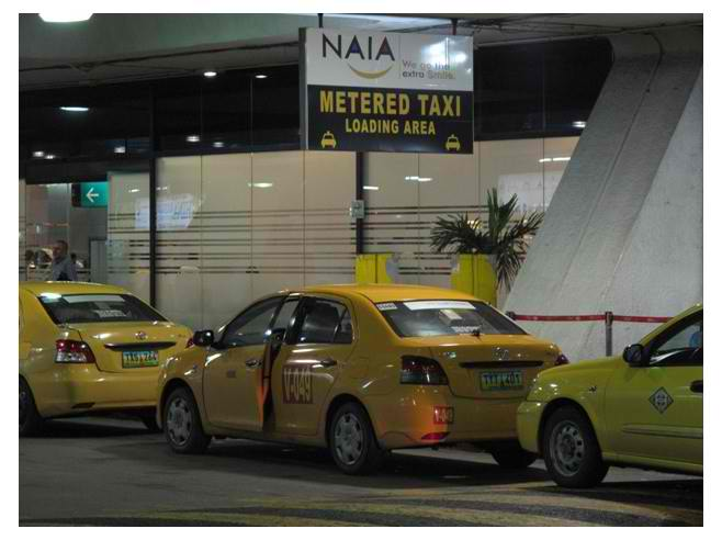 Airport (Yellow) Taxi (Google Images)