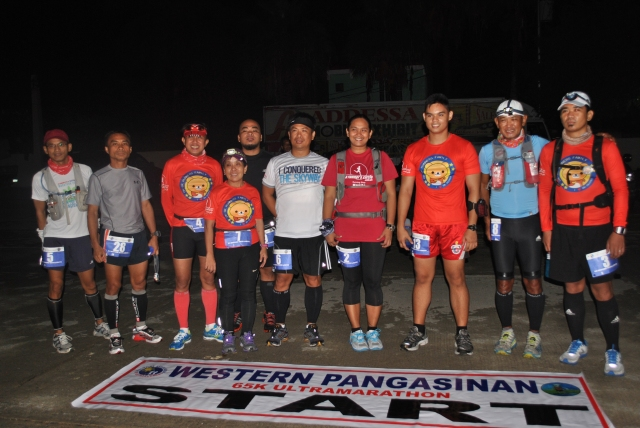 At The Starting Area (Sual, Pangasinan)
