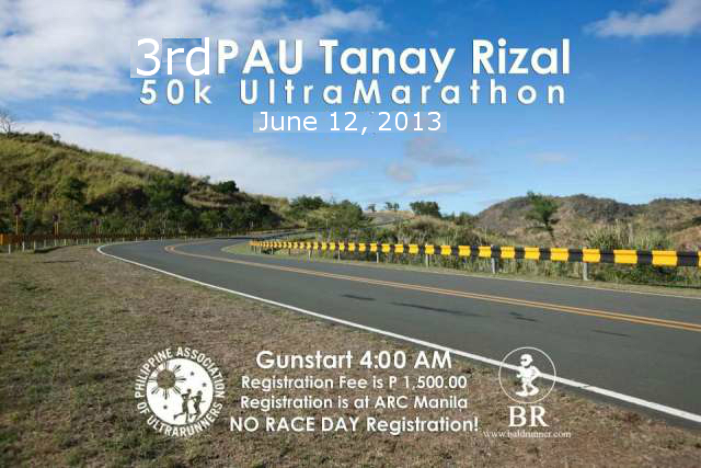 TANAY 50K Poster (Courtesy of Meljohn Tezon)