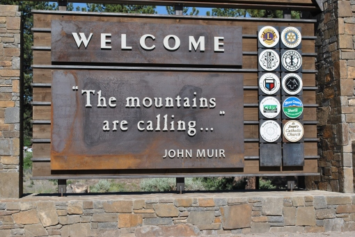 """The Mountains Are Calling..."