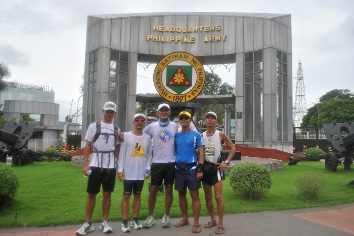 A Pose In Front Of Fort Bonifacio/Headquarters Philippine Army